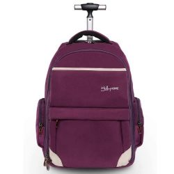 HOLLYHOME 19 INCHES WHEELED ROLLING BACKPACK