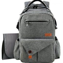 HapTim Backpack Diaper Bag